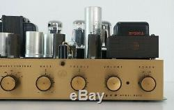 Vintage Bogen DB20 Mono Tube Integrated Amplifier Partially Recapped