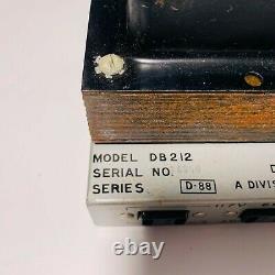 Vintage David Bogen DB212 Tube Integrated Amplifier Amp Series D88 SOLD AS IS
