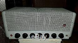 Vintage DuKane 1U460A Tube Mono Amplifier Amp 12AX7 12AU7 5881 Tung Sol Works