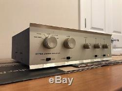 Vintage Dynaco SCA-35 Stereo Tube Integrated Amplifier EL84 6BQ5 12AX7 Work LOOK