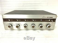 Vintage EICO Model ST40 TUBE AMPLIFIER for Parts or Repair