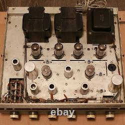 Vintage Eico ST70 Integrated Stereo Tube Amplifier Huge Transfomers Original