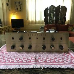 Vintage Fisher KX-200 7591 tube stereo integrated amp amplifier Gold