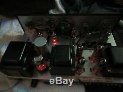 Vintage HEATHKIT Model SA-2 Tube Integrated Amplifier Very Nice For Parts Repair