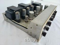 Vintage HH Scott LK-72 Integrated Tube Amplifier FOR PARTS ONLY