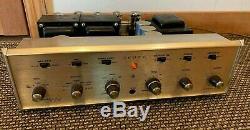 Vintage H. H. Scott LK-72-B Tube Integrated Amplifier