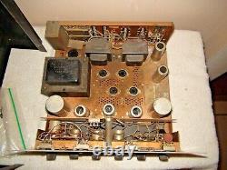 Vintage Harman Kardon A224 Vacuum Tube Integrated Amplifier Needs Tubes