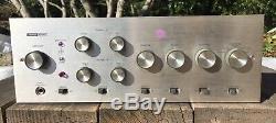 Vintage Harman Kardon A50K A500 Integrated Stereo Tube Amplifier 7355 Tested