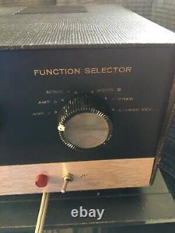 Vintage Heathkit SA-2 Tube Integrated Amplifier Read Works