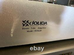 Vintage Jolida JD 302b Stereo Integrated Tube Amplifier no working no power