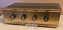 Vintage Knight KG-250 Stereo Integrated Amplifier For Repair Needs Tubes