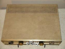 Vintage Knight KN-734 Stereo Integrated Amplifier Needs Tubes