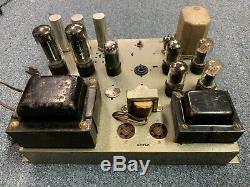 Vintage Magnavox Vacuum Tube Amplifier Amp 150aa