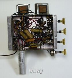 Vintage Philco 1619 Stereo Single Ended 6AQ5 Tube Amplifier, SE Amp, 1960 Tested
