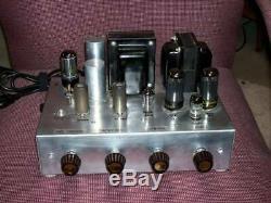 Vintage Pilot Integrated Mono Tube Amplifier Hi-fi, Magnetic Or Guitar Input