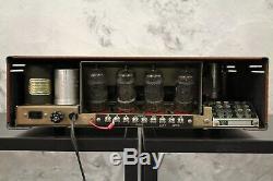 Vintage SHERWOOD Model S-5500 III Tube Integrated Amplifier