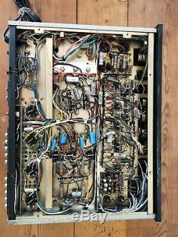 Vintage Sansui AU-111 Vacuum Tube / Valve Amplifier Working Properly