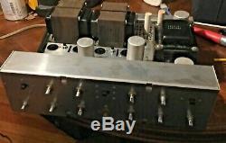 Vintage Scott LK 72 Stereo Integrated Amplifier Needs Tubes