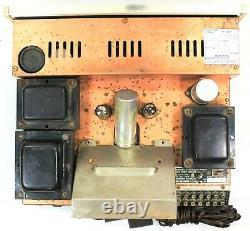 Vintage Sherwood S-5000 II Tube Integrated Amp Amplifier 80 Watt UNTESTED Nice