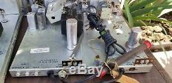 Vintage Steomberg Carlson ASR-333 Integrated tube amplifier Amp & SR-445 Tuner