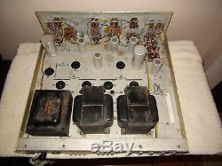 Vintage Stereo Eico ST70 Integrated Amplifier Needs Tubes