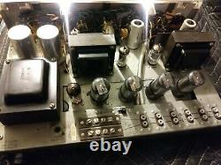 Vintage Very rare Bell Stereophonic 3030 Tube Integrated Amplifier Amp