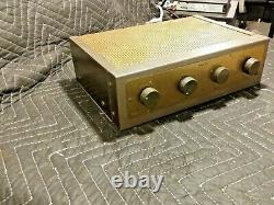 Vintage Very rare EICO Model HF-12 Tube Integrated Amplifier Amp
