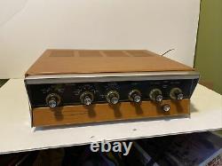Vintage tube amp Heathkit AA-100 DayStrom stereo integrated amplifier 12AX7 7199