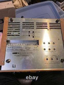 Vintage tube amp Heathkit AA-100 DayStrom stereo integrated amplifier 12AX7 7199