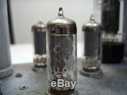 Vintage valve tube amplifier handwired