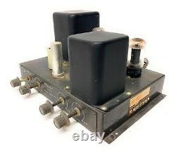 Vitnage Heathkit tube integrated model A-9 vacuum tube AMPLIFIER tested WORKS