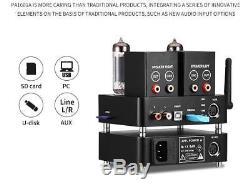WiFi APPJ 6J1+6P4 Vacumm Tube Amplifier Mini HiFi Stereo Integrated Desktop Amp