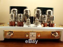 YAQIN MC-100B GOLD KT88 Vacuum Tube Hi-end Integrated Power Amplifier 110v-240v
