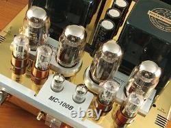 YAQIN MC-100B Gold KT88 Vacuum Tube Hi-Fi Integrated Power Amplifier 110v-240v