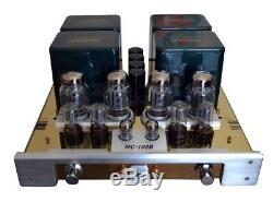 YAQIN MC-100B KT88 Vacuum Tube Hi-end Integrated Power Amplifier 110v-240v