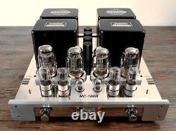 YAQIN MC-100B SV KT88 x4 Vacuum Tube Hi-end Integrated Power Amplifier 110v-240v