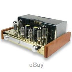 YAQIN MC-84L Class A Vacuum Valve Tube Integrated Headphone Amplifier EL84